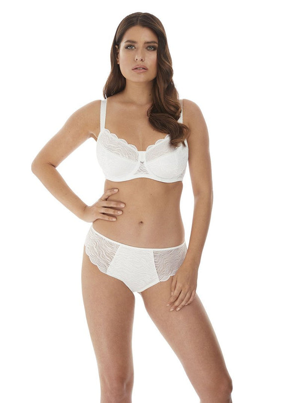 Fantasie Impression Classic Brief, Brazilian & High Waisted Brief - White-Bras Galore - Lingerie and Swimwear Specialist