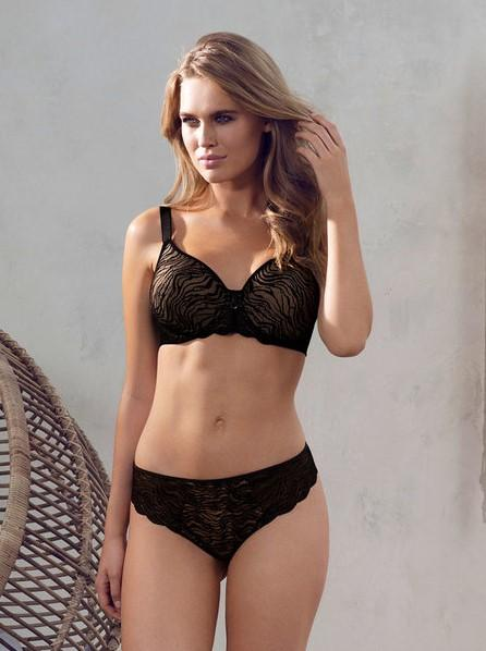 Fantasie Impression Moulded Bra - Black-Bras Galore - Lingerie and Swimwear Specialist