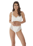 Fantasie Impression Soft Cup Bralette - White-Bras Galore - Lingerie and Swimwear Specialist
