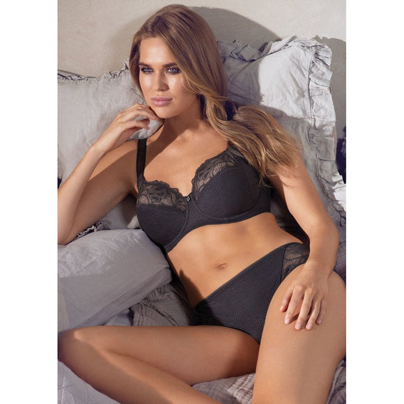 Fantasie Memoir Full Cup Side Support Bra - Slate-Bras Galore - Lingerie and Swimwear Specialist