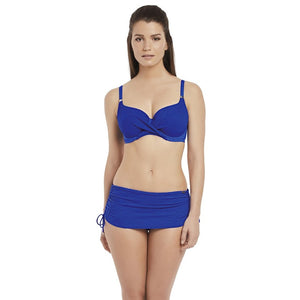 Fantasie Ottawa Adjustable Skirted Bikini Brief - Pacific Blue-Bras Galore - Lingerie and Swimwear Specialist
