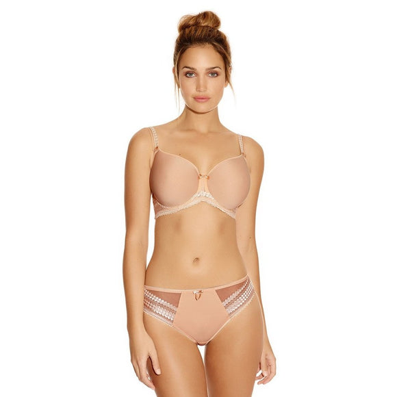 Fantasie Rebecca Moulded Bra - Nude-Bras Galore - Lingerie and Swimwear Specialist