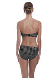 Fantasie Santa Monica Bandeau Bikini Top - Black-Bras Galore - Lingerie and Swimwear Specialist