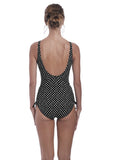 Fantasie Santa Monica V Neck Swimsuit with Adjustable Leg-Bras Galore - Lingerie and Swimwear Specialist