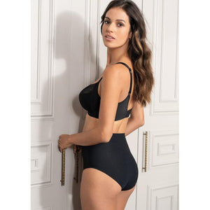 Fantasie Smoothease High Waisted Brief - Black-Bras Galore - Lingerie and Swimwear Specialist