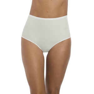 Fantasie Smoothease High Waisted Brief - Ivory-Bras Galore - Lingerie and Swimwear Specialist