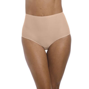 Fantasie Smoothease High Waisted Brief - Natural Nude-Bras Galore - Lingerie and Swimwear Specialist