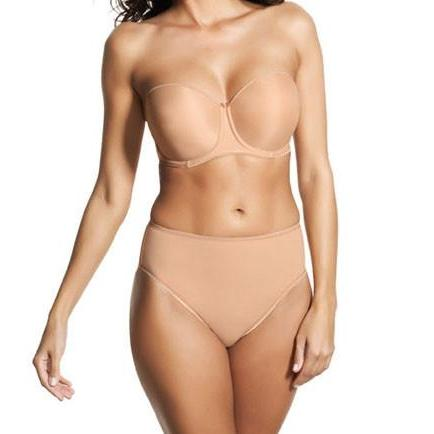 Fantasie Smoothing Moulded Strapless Bra - Nude