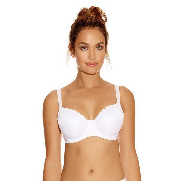 Fantasie Smoothing Seam Free Balcony Bra 4520 - White-Bras Galore - Lingerie and Swimwear Specialist
