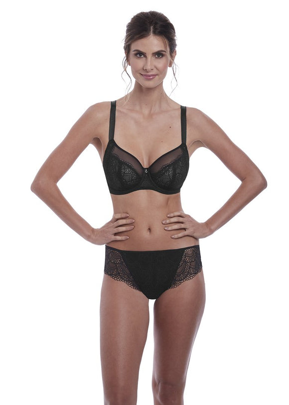 Fantasie Twilight Classic Brief & Brazilian - Black-Bras Galore - Lingerie and Swimwear Specialist