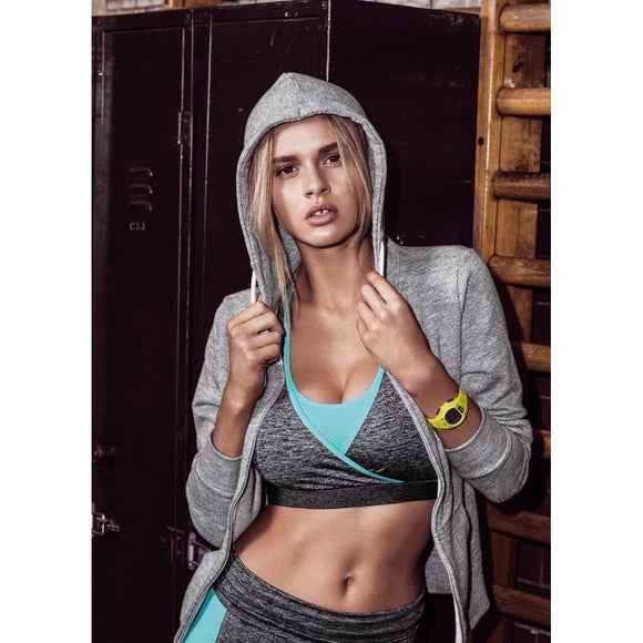 Freya Active Freestyle Soft Cup Crop Top - Carbon-Bras Galore - Lingerie and Swimwear Specialist