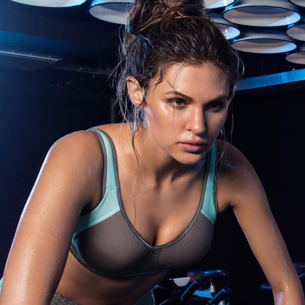 2df174150858f Freya Active Sonic Underwired Moulded Sports Bra - Carbon-Bras Galore -  Lingerie and Swimwear ...
