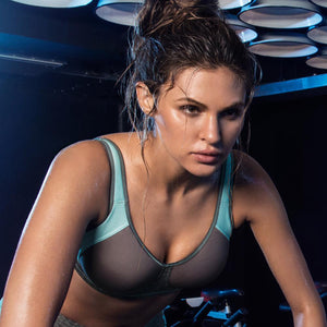 Freya Active Sonic Underwired Moulded Sports Bra - Carbon-Bras Galore - Lingerie and Swimwear Specialist