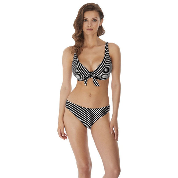 Freya Beach Hut Classic Bikini Brief - Black-Bras Galore - Lingerie and Swimwear Specialist