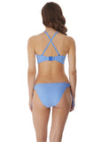 Freya Beach Hut Padded Bandeau Bikini Top - Blue Moon-Bras Galore - Lingerie and Swimwear Specialist