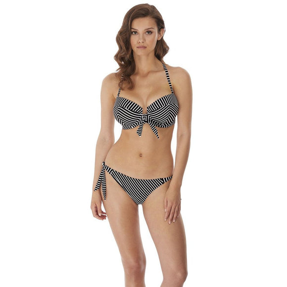 Freya Beach Hut Rio Scarf Tie Bikini Brief - Black-Bras Galore - Lingerie and Swimwear Specialist