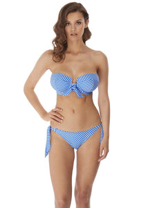 Freya Beach Hut Rio Scarf Tie Bikini Brief - Blue Moon-Bras Galore - Lingerie and Swimwear Specialist