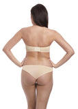 Freya Cameo Deco Moulded Strapless Bra - Nude Sand-Bras Galore - Lingerie and Swimwear Specialist