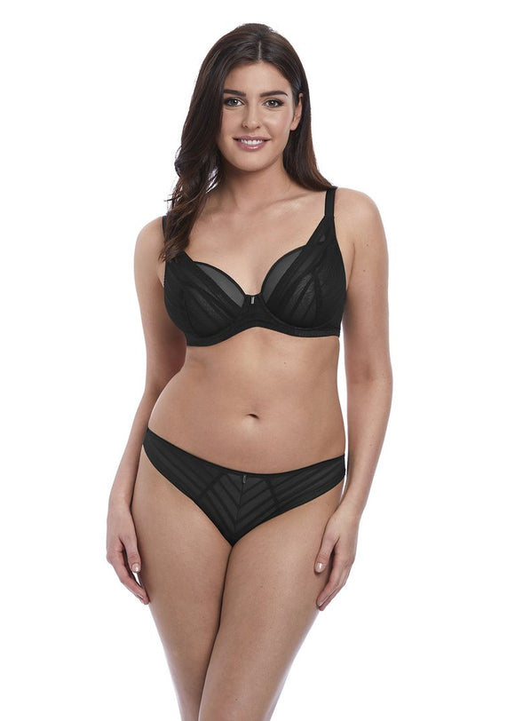Freya Cameo High Apex Bra - Black-Bras Galore - Lingerie and Swimwear Specialist