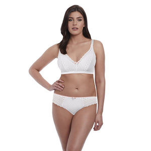 Freya Daisy Lace Soft Cup Bralette - White-Bras Galore - Lingerie and Swimwear Specialist