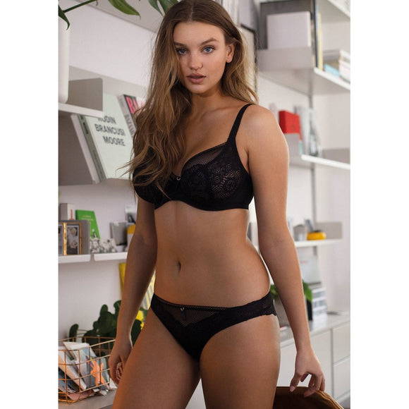Freya Expression Plunge Bra - Black-Bras Galore - Lingerie and Swimwear Specialist
