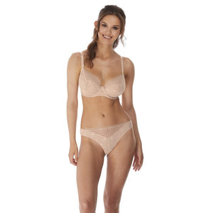 Freya Expression Plunge Bra - Natural Beige Nude-Bras Galore - Lingerie and Swimwear Specialist