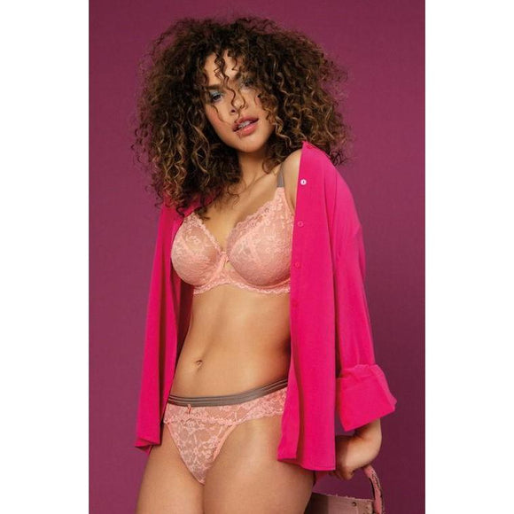 Freya Offbeat Side Support Bra - Rosehip Pink-Bras Galore - Lingerie and Swimwear Specialist