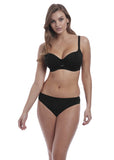 Freya Remix Sweetheart Padded Bikini Top - Black-Bras Galore - Lingerie and Swimwear Specialist