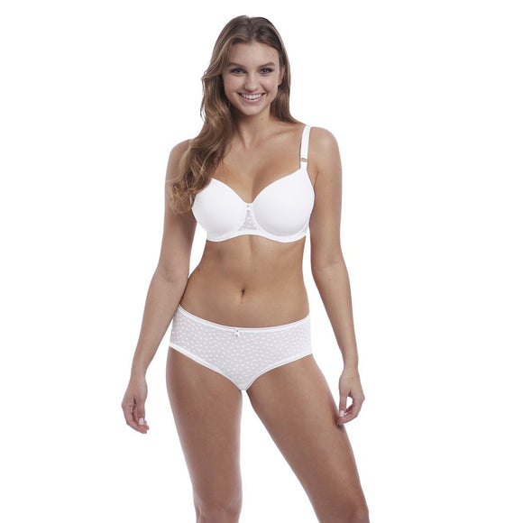 Freya Starlight Idol Moulded Balcony Bra - White-Bras Galore - Lingerie and Swimwear Specialist