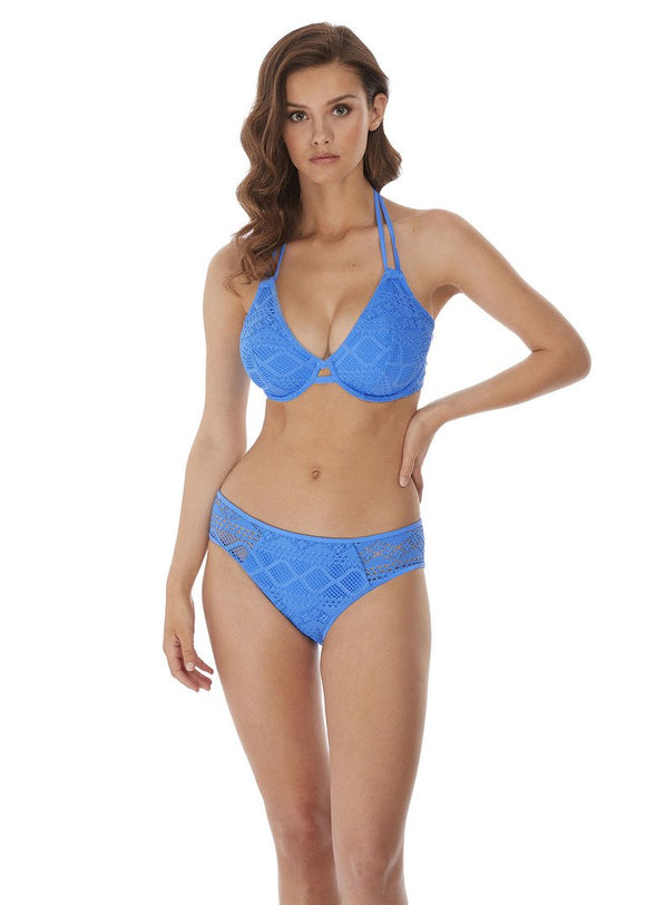 Freya Sundance Hipster Bikini Brief - Blue Moon-Bras Galore - Lingerie and Swimwear Specialist