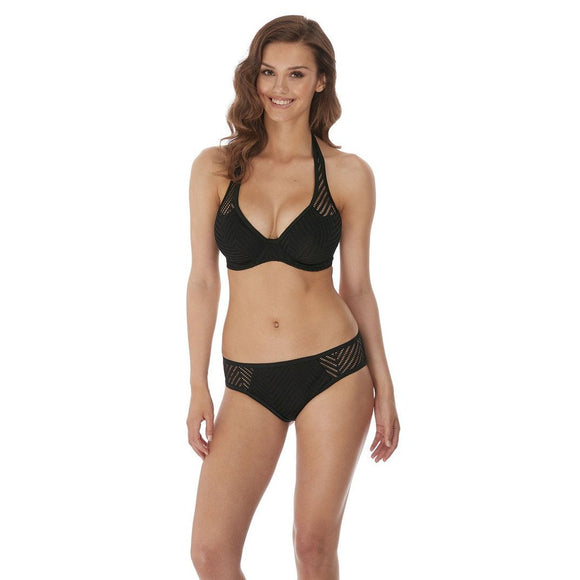 Freya Urban Night Classic Bikini Brief - Black-Bras Galore - Lingerie and Swimwear Specialist