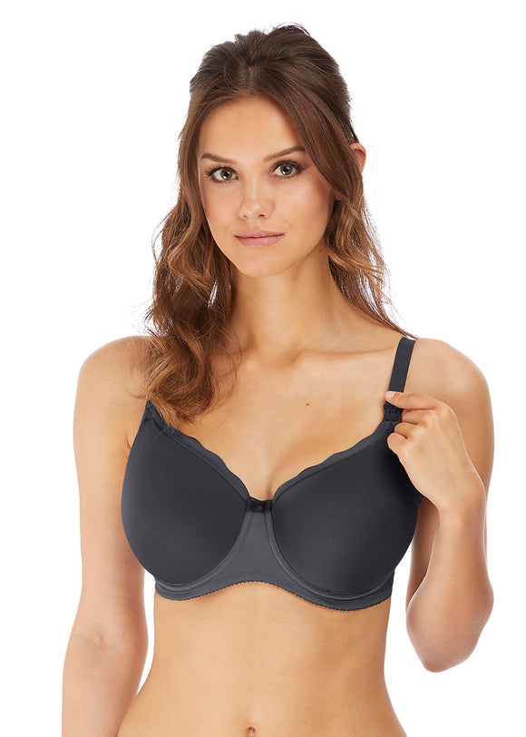 Freya Pure Sculpt Moulded Underwired Nursing Bra - Slate