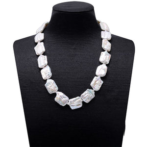 Hot New Trend: Uniquely Cultured Freshwater Pearls Necklace