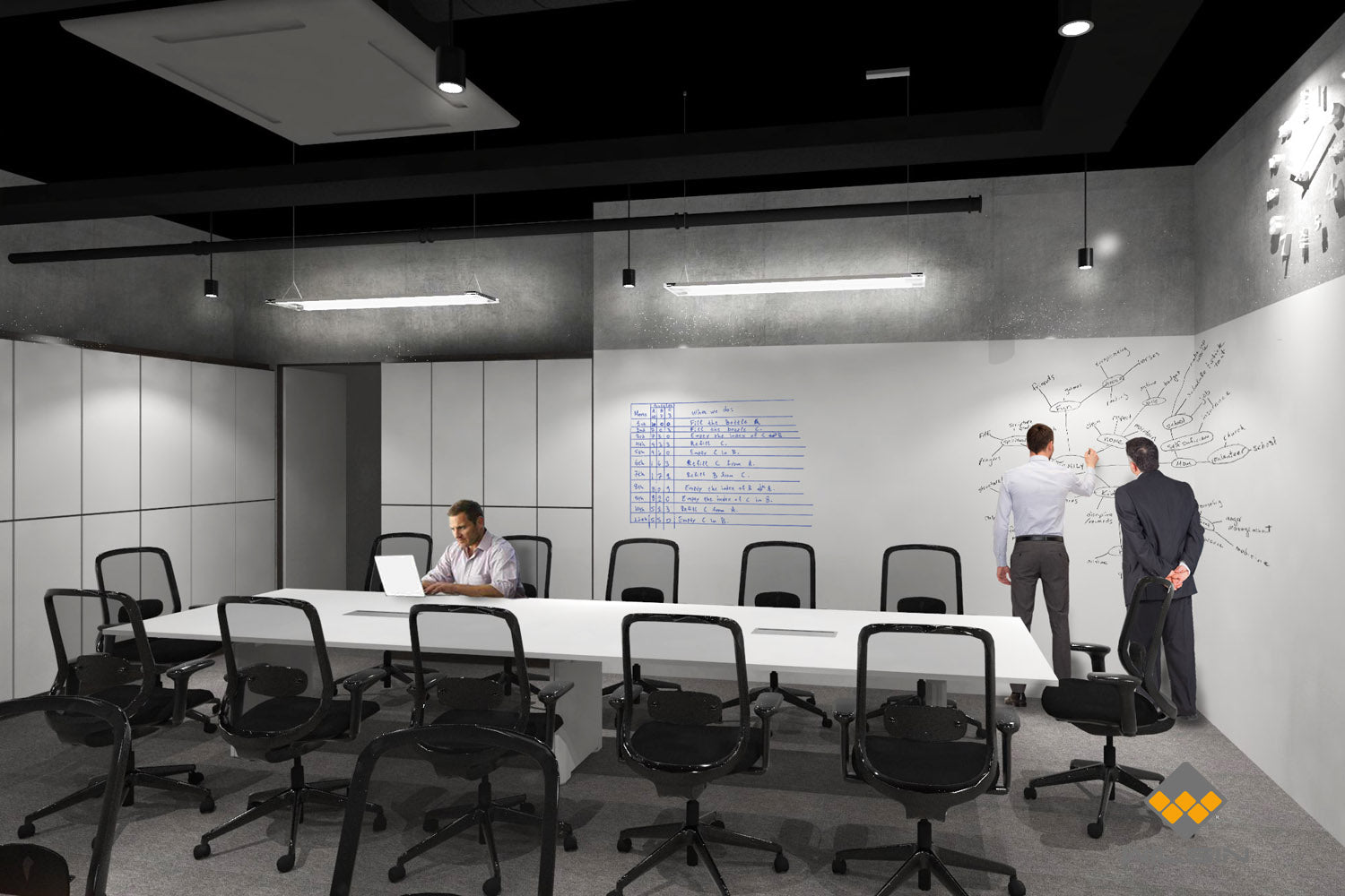 Office Design of Business Conference Room