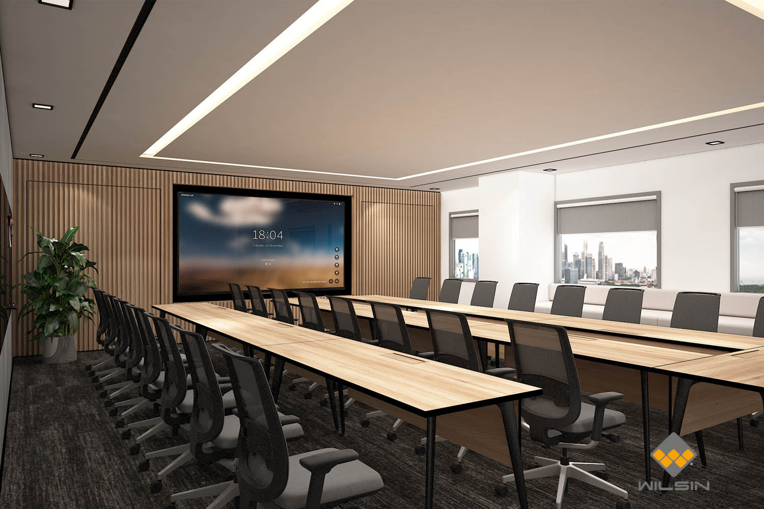 Design of Business Conference Room