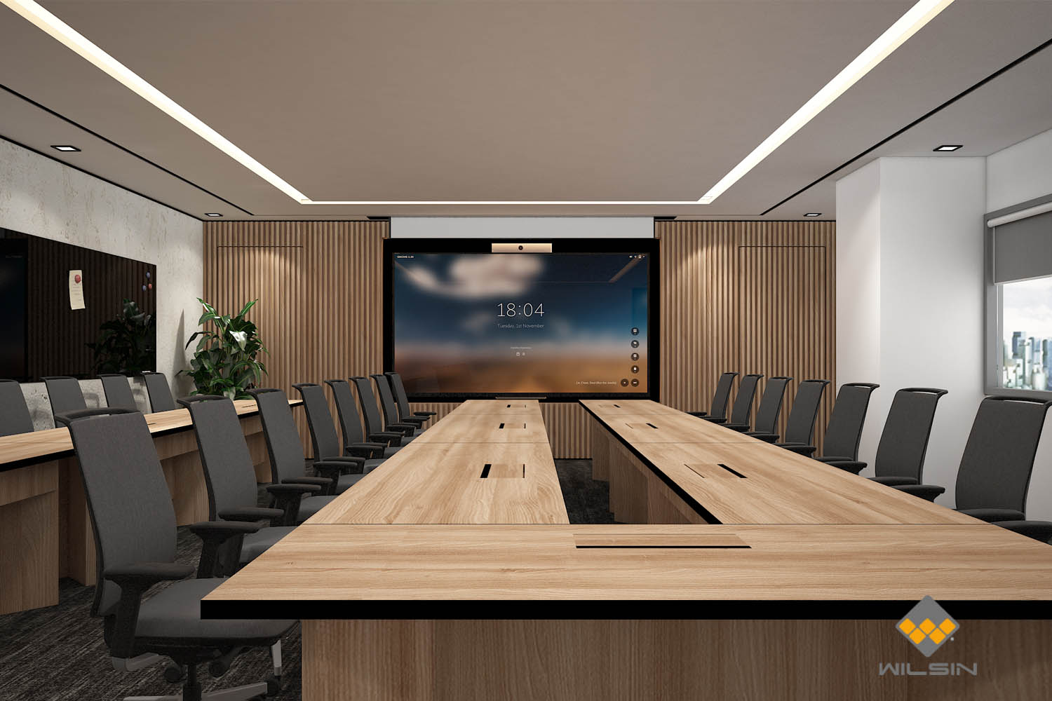 Office Design Of Meeting Room Singapore