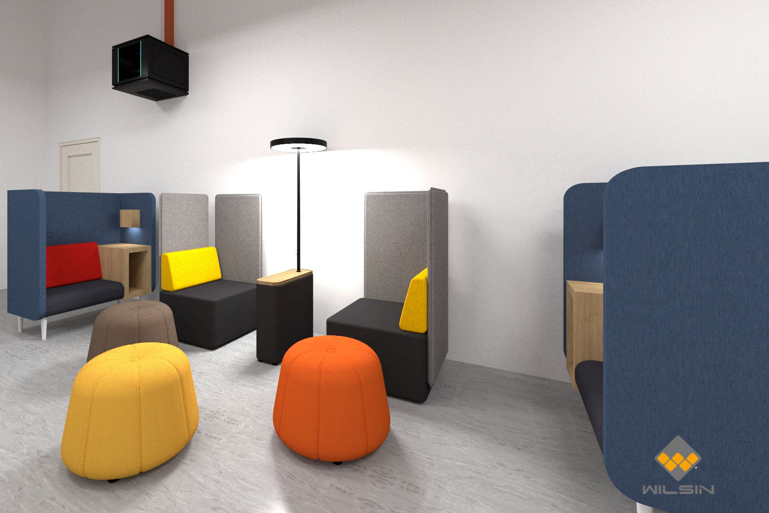 Office Discussion Breakout Area Design
