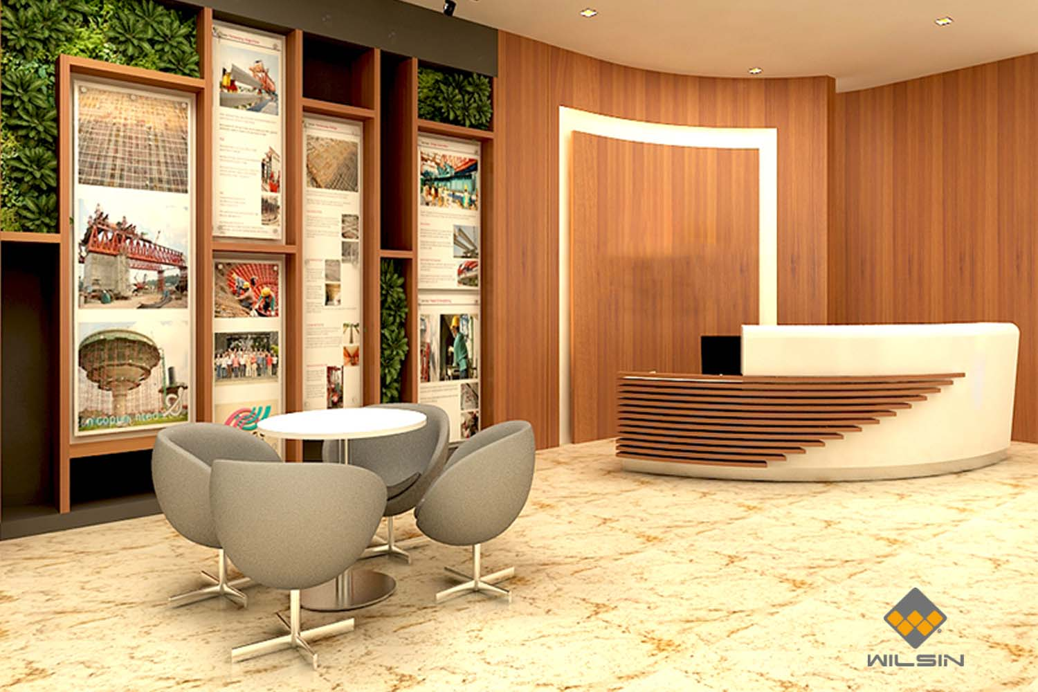 Office Reception Singapore