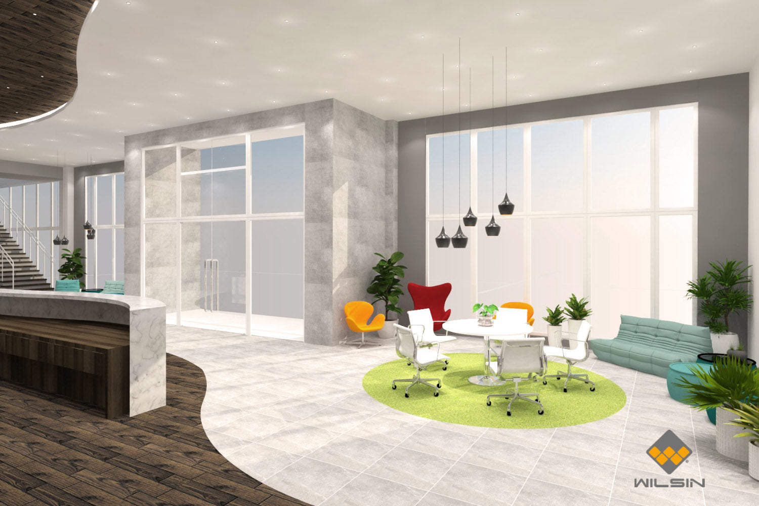Office Waiting Area