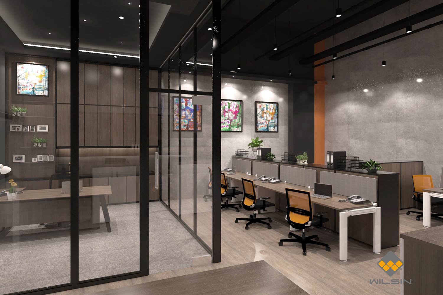 Workstations Office Designs Singapore