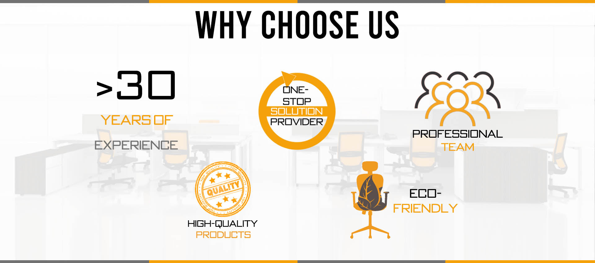 Wilsin Office Furniture Why Choose Us Banner