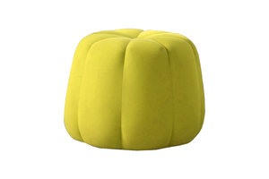Lolla Ottoman Small in Yellow