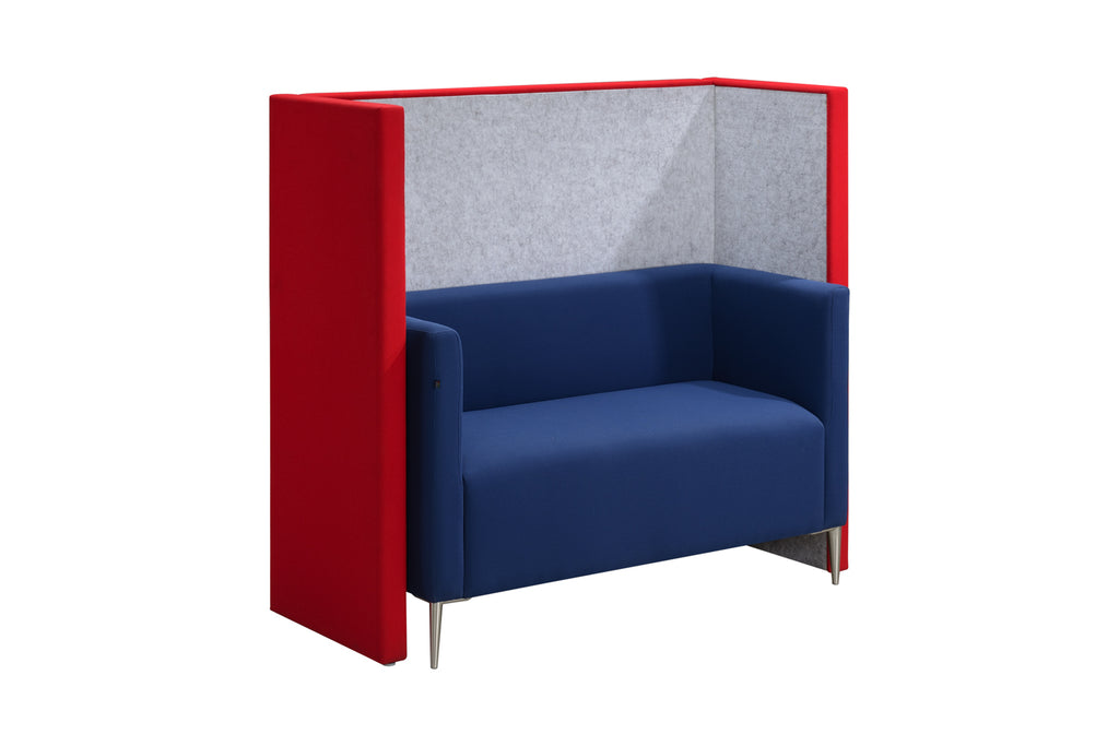 Privva Office Collaborative Discussion Pods Two Seaters