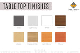 Table Top Finishes from Wilsin Office Furniture