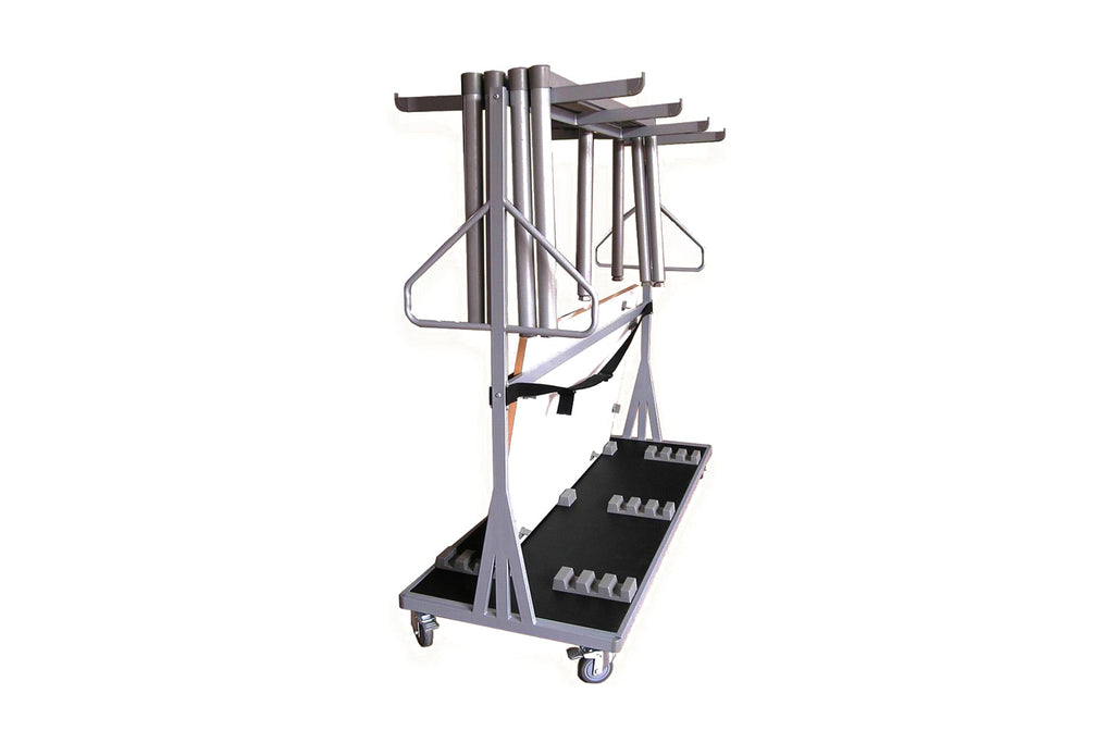 Tablex IS Rectangular Foldable Training Table Trolley Rack