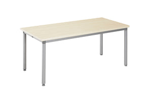 Tablex IS Rectangular Foldable Training Table with England Oak Table Top