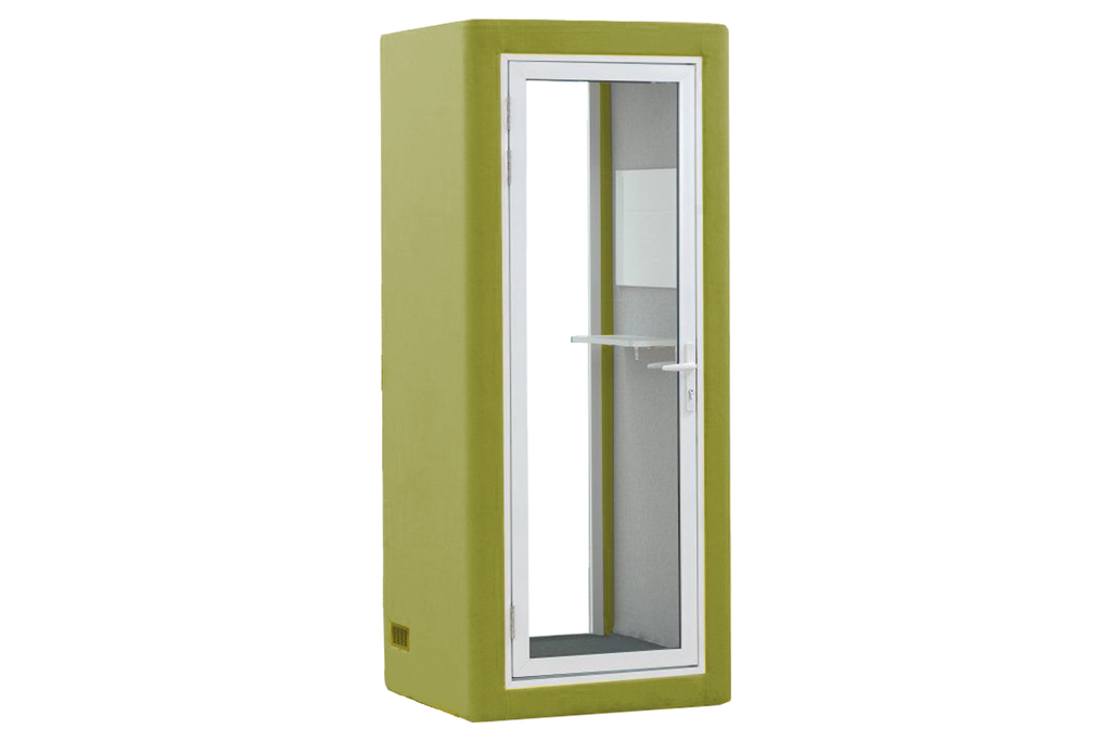 Picco Spazio Office Phone Booth Privacy Pod in Green