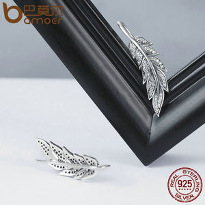 Long Drop Earrings for Women Sterling Silver