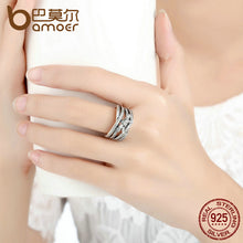 Load image into Gallery viewer, New Classic 925 Sterling Silver Ring For Women  Cubic Zirconia