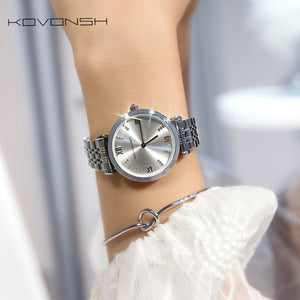 Luxury Fashion Women Watches, Lady Watch Stainless Steel